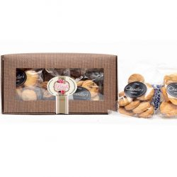 A Bikky Box Hamper consists of five packets of different butter biscuits. This makes a great treat to give as a gift. Birthdays, Gift For Her, Gift For Him, Treat, We deliver nationally.