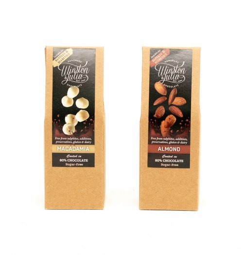 Banting and Diabetic Chocolate coated Nuts